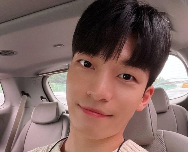 Wi Ha-joon as seen in June 2021