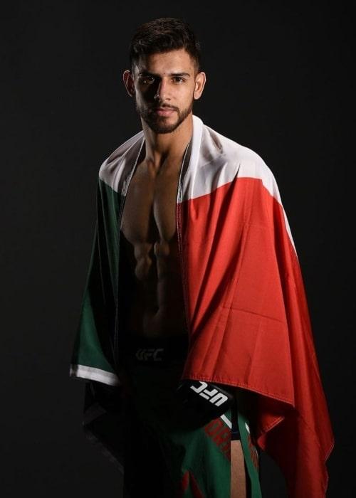 Yair Rodríguez as seen in an Instagram Post in April 2020