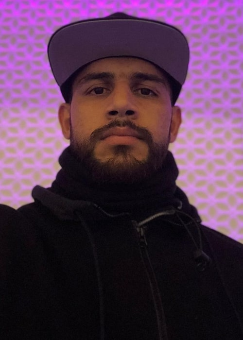 Yair Rodríguez as seen in an Instagram Post in November 2020