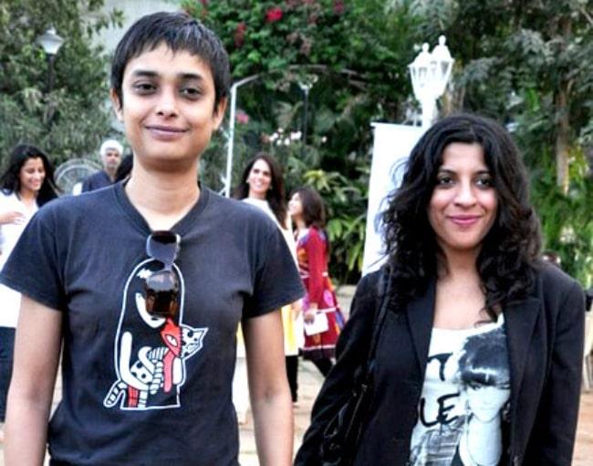 Zoya Akhtar (Right) and Reema Kagti in 2011